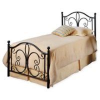Hillsdale Milwaukee Twin Bed Set in Brown