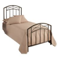 Hillsdale Morris Twin Bed Set in Pewter