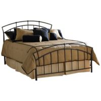 Hillsdale Vancouver Queen Bed without Rails in Brown