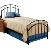 Hillsdale Vancouver Twin Bed without Rails in Brown