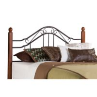 Hillsdale Madison Metal King Headboard in Black