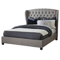 Hillsdale Bromley Queen Bed Set in Grey