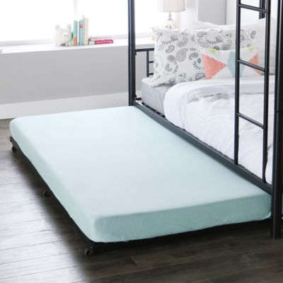 walker edison twin trundle bed frame