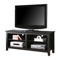 Walker Edison Essential TV Console in Black