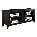 "Forest Gate 58"" Wood Media TV Stand Console in Espresso"