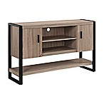 Forest Gate Urban Blend Buffet/TV Console in Driftwood