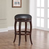 American Heritage Alonza Bar Height Stool in Brown