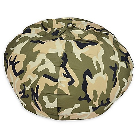 Etonnant Medium Bean Bag Chair In Camouflage