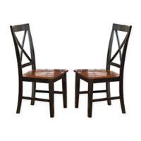 Steve Silver Co. Kingston Dining Chairs in Oak (Set of 2)