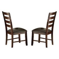 Steve Silver Co. Sao Paulo Dining Chairs in Cherry (Set of 2)