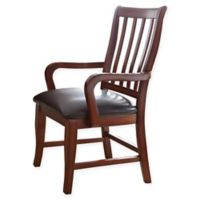 Steve Silver Co. Montibello Dining Arm Chair in Brown