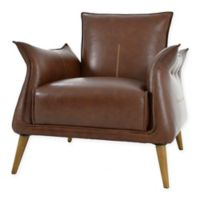 Moe's Home Collection Verona Club Chair in Light Brown