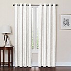 Quinn 95-Inch Grommet Top 100% Blackout Window Curtain Panel in White