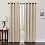 Quinn 72-Inch Grommet Top 100% Blackout Window Curtain Panel in Linen