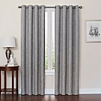 Quinn 84-Inch Grommet Top 100% Blackout Window Curtain Panel in Grey