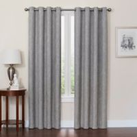 Quinn 120-Inch Grommet Top 100% Blackout Window Curtain Panel in Gray