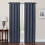 Quinn 84-Inch Grommet Top 100% Blackout Window Curtain Panel in Navy