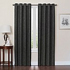 Quinn 84-Inch Grommet Top 100% Blackout Window Curtain Panel in Charcoal