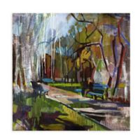 Abstract Park 1 All Weather Outdoor Canvas Wall Art