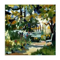 Abstract Park 2 All Weather Outdoor Canvas Wall Art