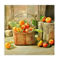 Tomato Basket 1 All Weather Outdoor Canvas Wall Art