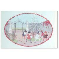 Mulberry Bush 45-Inch x 30-Inch Canvas Wall Art