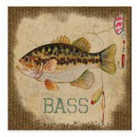 Bass All Weather Outdoor Canvas Wall Art