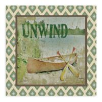 Unwind All Weather Outdoor Canvas Wall Art