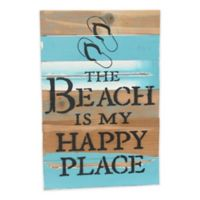 "Sweet Bird & Co ""Beach is My Happy Place"" Wall Art"
