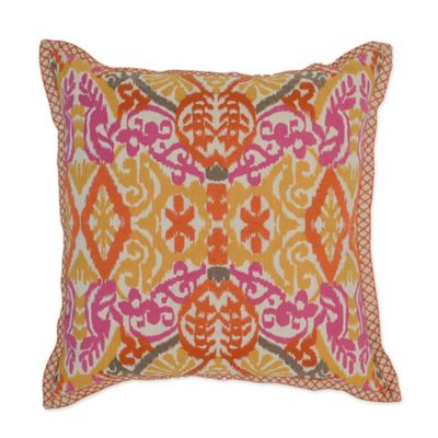 villa home sunda 22inch square throw pillow in