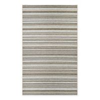Couristan® Cape Brockton 5-Foot 3-Inch x 7-Foot 6-Inch All-Weather Area Rug in Brown/Ivory