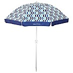 Nautica® 7-Foot Beach Umbrella in Blue