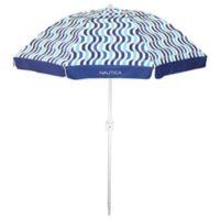 Nautica 7-ft. Beach Umbrella in Blue