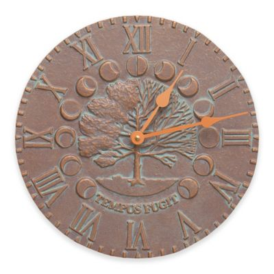 Buy indoor fountain from bed bath beyond whitehall products 12 inch times and seasons indooroutdoor clock in copper workwithnaturefo