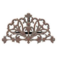 Whitehall Products Filigree Outdoor Hose Holder in Copper Verdigris