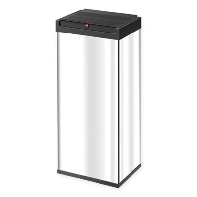 Buy Rectangular Stainless Steel Trash Can From Bed Bath