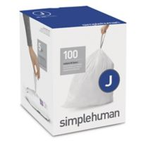 simplehuman® Code J 100-Pack 10-10.5-Gallon Custom Fit Liners
