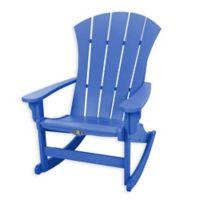 Pawleys Island® All-Weather Durawood® Sunrise Adirondack Rocker in Blue