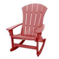 Pawleys Island® All-Weather Durawood® Sunrise Adirondack Rocker in Red