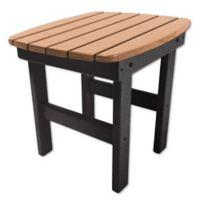 Pawleys Island® All-Weather Durawood® Side Table in Black/Cedar