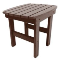 Pawleys Island® All-Weather Durawood® Side Table in Chocolate