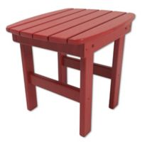 Pawleys Island® All-Weather Durawood® Side Table in Red