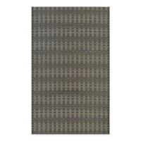 Couristan® Cape Barnstable 3-Foot 11-Inch x 5-Foot 6-Inch All-Weather Area Rug in Black/Tan