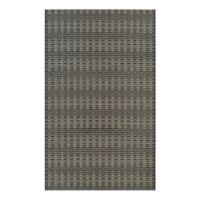 Couristan® Cape Barnstable 5-Foot 3-Inch x 7-Foot 6-Inch All-Weather Area Rug in Black/Tan