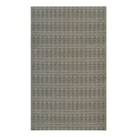Couristan® Cape Barnstable 6-Foot 6-Inch x 9-Foot 6-Inch All-Weather Area Rug in Black/Gold
