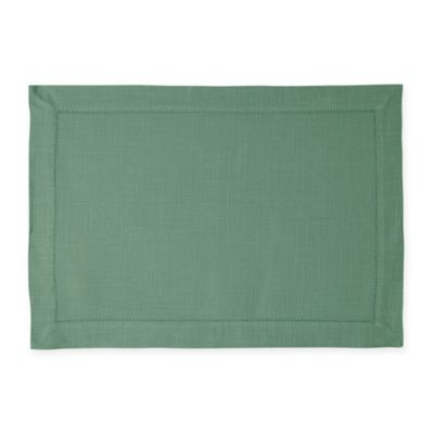 Rustic Placemats In Forest Green (Set Of 4)