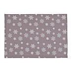 Snowfall Placemats in Pewter (Set of 4)