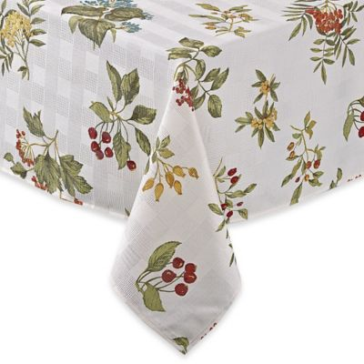 Barrett 60 Inch X 120 Inch Microfiber Oblong Tablecloth