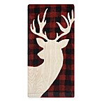 Buffalo Check Deer Fiber Reactive Kitchen Towel