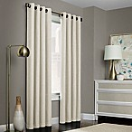 Brielle Solid 84-Inch Grommet Top Window Curtain Panel in Ivory